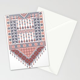 Tatreez embroidery pattern Stationery Cards