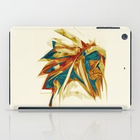 native american iPad Cases featuring Native American by Jo Tan