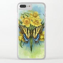 Pappilon Clear iPhone Case