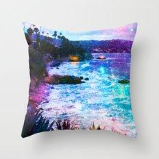 Magical Laguna Throw Pillow