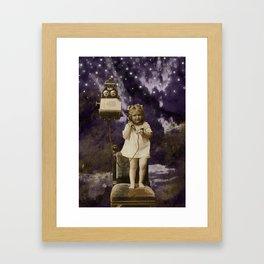 Little Lady of Celestial Night by HJ Tanner Studio Framed Art Print