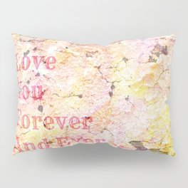 Love You Forever And Ever ... Pillow Sham