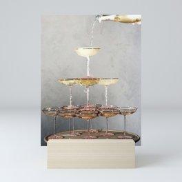 champagne supernova Mini Art Print