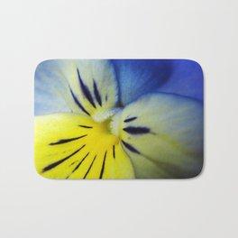 Flower Blue Yellow Bath Mat