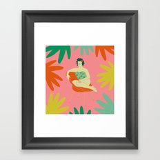 Silla Framed Art Print