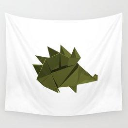 Origami Hedgehog Wall Tapestry