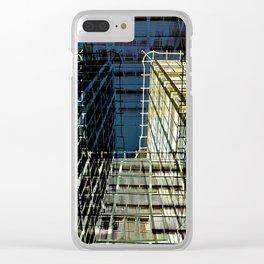 Urban Berlin Facade Clear iPhone Case