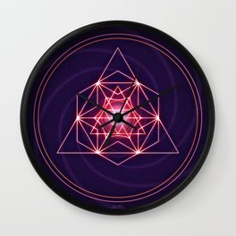 Astral Exploration Wall Clock
