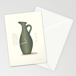 Kintsugi Jug Stationery Cards