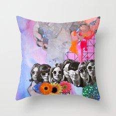 Retrofuture Throw Pillow