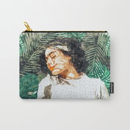 Rest #painting #tropical Carry-All Pouch