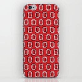 "Chevron Block ""O"" Tile iPhone Skin"