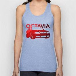 Skoda Octavia - classic red - Unisex Tank Top
