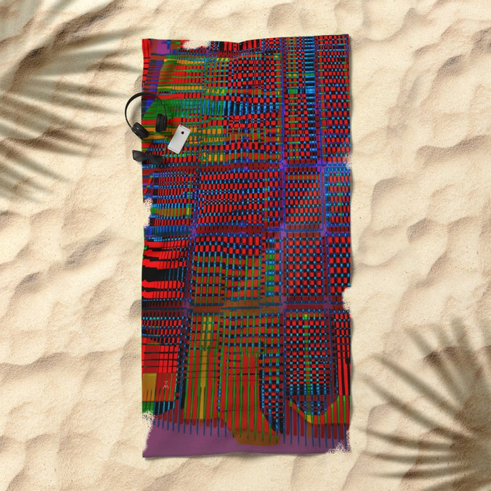 Spatial Segmentation 17-07-16 Beach Towel