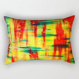 Dry Brush Rectangular Pillow