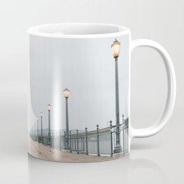 Morning at the Pier Coffee Mug