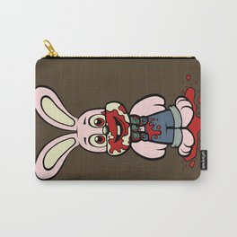 Pink Robbie the Rabbit Carry-All Pouch