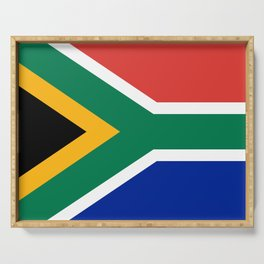 Flag of South Africa Serving Tray