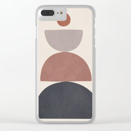 Balancing Elements III Clear iPhone Case