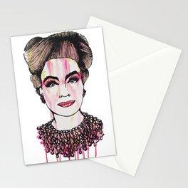 Ruby Mommy Dearest  Stationery Cards
