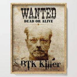 Btk Killer Serving Tray
