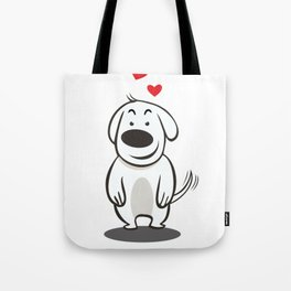 MY FUNNY DOG Tote Bag