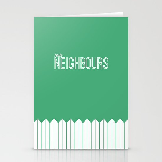 Neighbours Stationery Cards