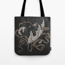 Night falling  Tote Bag
