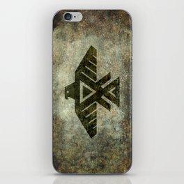 Thunderbird, Emblem of the Anishinaabe people iPhone Skin