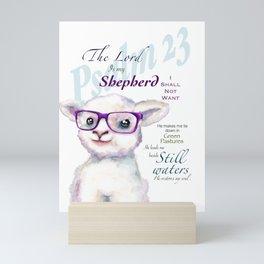 Little lamb Mini Art Print