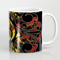 maori Mugs featuring Rasta Colors on Maori Patterns by Lonica Photography & Poly Designs