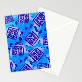 Mosaic Pattern Stationery Cards