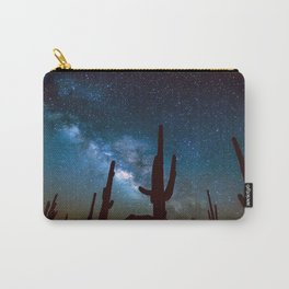 Milky Way Cacti Carry-All Pouch