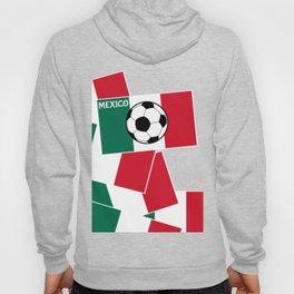 Flag of Mexico Football Hoody