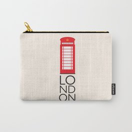 London Inspired: Phone Booth Carry-All Pouch