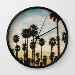Palm Tree Sky Wall Clock