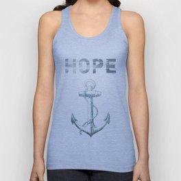 Hope Anchor Unisex Tank Top