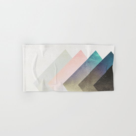 Geometric Layers Hand & Bath Towel