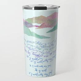 It Is Well With My Soul-Hymn Travel Mug