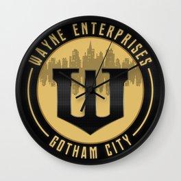 Wayne Enterprises Wall Clock