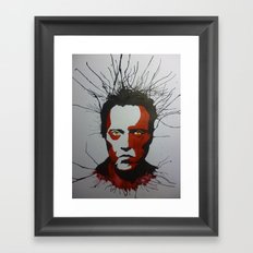 Walken Dead Framed Art Print