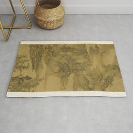 Yuan Jiang - Landscape for Old Man Yu on His Birthday Rug
