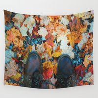 wander Wall Tapestries featuring Wander by World_Perspective