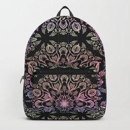 hand draw coloring mandala Backpack