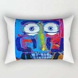 Face basquiat Rectangular Pillow