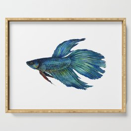 Mortimer the Betta Fish Serving Tray