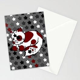 Strawberry Cream Stars - Night Variant Stationery Cards