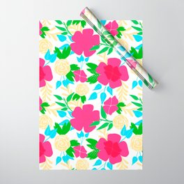 03 Pattern of Flowers Wrapping Paper
