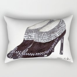 Manolos so French  Rectangular Pillow