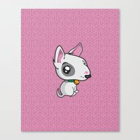 puppy Canvas Prints featuring Puppy by Eye Opening Design